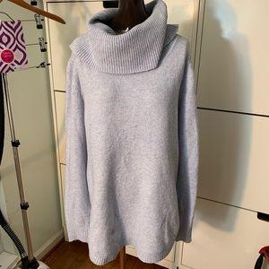 NWT Tahari Cowl Long Sweater